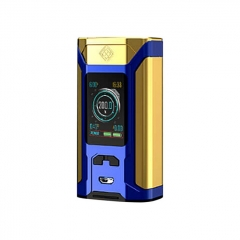 Authentic Wismec Sinuous RAVAGE230 200W TC VW APV Mod  - Gold Blue