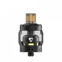Authentic Advken MANTA MTL 24mm RTA Rebuildable Tank Atomizer 3ml - Black