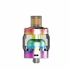 Authentic Advken MANTA MTL 24mm RTA Rebuildable Tank Atomizer 3ml - Rainbow