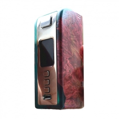 Authentic Yiloong Fog Box 75W DNA75 3000mAh TC VW Variable Wattage Stabilized Wood Box Mod - Random Color