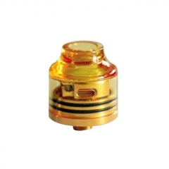Authentic Oumier Wasp Nano Mini RDA Rebuildable Dripping Atomizer w/ BF Pin - Transparent + Gold
