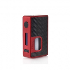 Authentic Hotcig RSQ 80W Squonk TC VW Variable Wattage Box Mod - Red