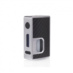 Authentic Hotcig RSQ 80W Squonk TC VW Variable Wattage Box Mod - Silver