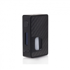 Authentic Hotcig RSQ 80W Squonk TC VW Variable Wattage Box Mod - Black