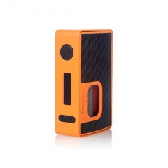 Authentic Hotcig RSQ 80W Squonk TC VW Variable Wattage Box Mod - Orange