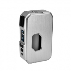 Authentic HCigar Aurora 80W 18650/20700/21700 TC VW Variable Wattage Squonk Box Mod - Silver