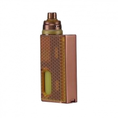 Pre-Sale Authentic Wismec Luxotic 100W Squonk Box Mod + Tobhino BF RDA Kit - Bronze Honeycomb