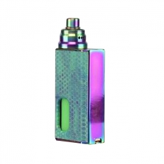 Pre-Sale Authentic Wismec Luxotic 100W Squonk Box Mod + Tobhino BF RDA Kit - Blue Honeycomb