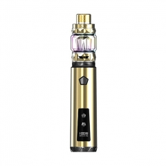 Authentic IJOY Saber 100W VW Variable Wattage Mod + Diamond Tank w/ 20700 Battery Kit - Gold