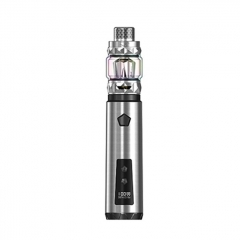 Authentic IJOY Saber 100W VW Variable Wattage Mod + Diamond Tank w/ 20700 Battery Kit - Silver