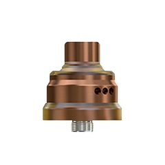 Pre-Sale Authentic Wismec Tobhino BF 22mm RDA Rebuildable Dripping Atomizer w/BF Pin - Bronze