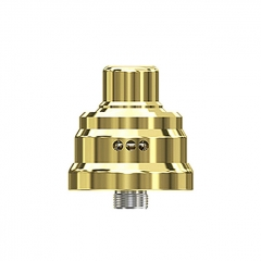 Pre-Sale Authentic Wismec Tobhino BF 22mm RDA Rebuildable Dripping Atomizer w/BF Pin - Gold