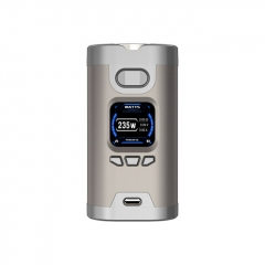 Authentic HCigar Wildwolf 235W TC VW APV Box Mod - Silver