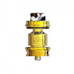 Authentic Ehpro Billow X 24mm RTA Rebuildable Tank Atomizer 4ml/5.5ml - Gold