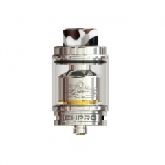 Authentic Ehpro Billow X 24mm RTA Rebuildable Tank Atomizer 4ml/5.5ml - Silver
