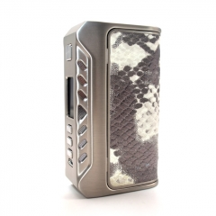 Authentic ThinkVape Thunder 200W TC Temperature Control VW Box Mod - Silver