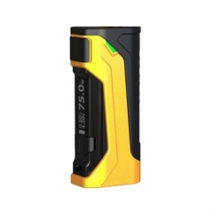 Authentic Wismec CB-80 80W TC VW Variable Wattage Box Mod - Yellow
