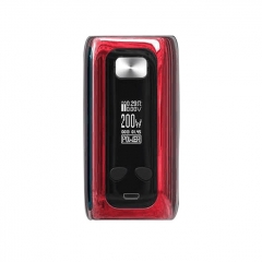Authentic ThinkVape Thor 200W TC Temperature Control VW Box Mod - Red