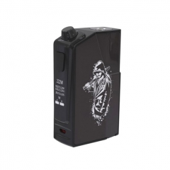 Authentic Oumier Flash VT-1 222W TC VW APV Box Mod - Black
