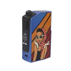 Authentic Oumier Flash VT-1 222W TC VW APV Box Mod - Party Girl