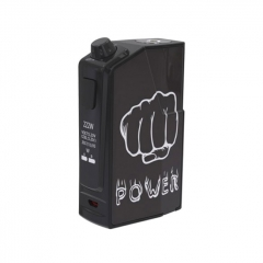 Authentic Oumier Flash VT-1 222W TC VW APV Box Mod - Street Combat
