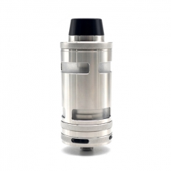 ULTON Typhoon GT4 Style 316SS RTA Rebuildable Tank Atomizer 5ml (1:1 with Logo) - Silver