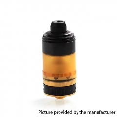 Coppervape Hussar Style 316SS 22mm RTA Rebuildable Tank Atomizer w/ Micro Tank 3.5ml - Black