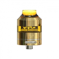 Authentic Ystar Bad Boy 24mm RDA Rebuildable Dripping Atomizer - Gold