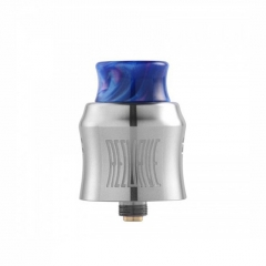 Recurve Style 24mm RDA Rebuildable Dripping Atomizer w/ BF Pin - Silver