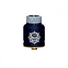 Authentic Riscle Pirate King 24mm RDA Rebuildable Dripping Atomizer w/ BF Pin - Black
