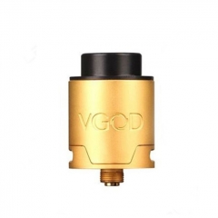 Authentic VGOD PRO 24mm RDA Rebuildable Dripping Atomizer - Brass