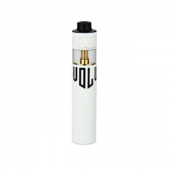Authentic ATOM Revolver Reloaded 2 18650 Mechanical MOD Kit - White