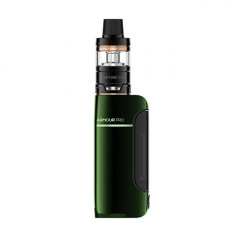 Authentic Vaporesso Armour Pro 100W 18650/20700/21700 TC VW Variable Wattage Box Mod+ Cascade Baby Tank 5ml Kit - Green