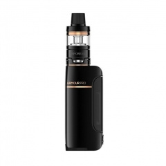 Authentic Vaporesso Armour Pro 100W 18650/20700/21700 TC VW Variable Wattage Box Mod+ Cascade Baby Tank 5ml Kit - Black
