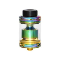 Mage V2 24mm RTA Rebuildable Tank Atomizer 3.5ml - Rainbow