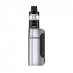 Authentic Vaporesso Armour Pro 100W 18650/20700/21700 TC VW Variable Wattage Box Mod+ Cascade Baby Tank 5ml Kit - Silver