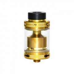 Mage V2 24mm RTA Rebuildable Tank Atomizer 3.5ml - Gold