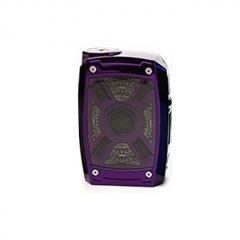 Authentic Teslacigs XT 220W TC Temperature Control VW Variable Wattage Box Mod - Purple