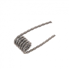 Authentic Pirate Coil Pre-made Fuse Clapton Coil Kanthal A1 0.45ohm Coil 3.0mm (10-pack)