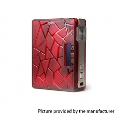 Pre-Sale Authentic Teslacigs DB 219W TC VW Variable Wattage Box Mod - Red