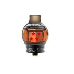 Authentic Fumytech Dragon Ball V2 24 RTA Rebuildable Tank Atomizer 5.5ml - Black