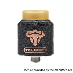 Authentic Thunderhead Creation THC Tauren RDA 24mm RDA Rebuildable Dripping Atomizer w/BF Pin - Black Copper