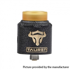 Authentic Thunderhead Creation THC Tauren RDA 24mm RDA Rebuildable Dripping Atomizer w/BF Pin - Black Brass