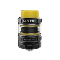 Authentic Ample Mace 24.5mm Sub Ohm Tank Clearomizer (TPD Edition) - Black