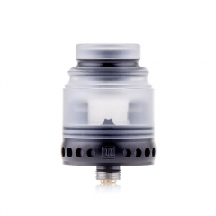 Authentic Hellvape Anglo 24mm RDA Rebuildable Dripping Atomizer w/BF Pin - White Black