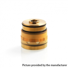 Coppervape Replacement Nano Tank Set for Hussar Style RTA - Gold + Yellow