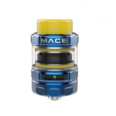 Authentic Ample Mace 24.5mm Sub Ohm Tank Clearomizer (TPD Edition) - Blue