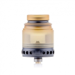 Authentic Hellvape Anglo 24mm RDA Rebuildable Dripping Atomizer w/BF Pin - Black Yellow