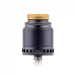 Authentic Hellvape Anglo 24mm RDA Rebuildable Dripping Atomizer w/BF Pin - Black