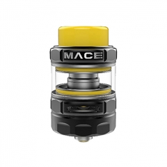 Authentic Ample Mace 24.5mm Sub Ohm Tank Clearomizer (Standard Edition) - Black